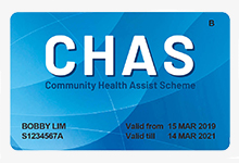 CHAS Blue Card