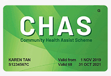 CHAS Green Card