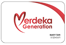 Merdeka Generation Card