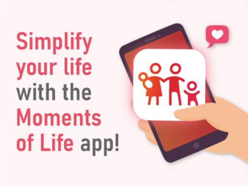 Moments of Life app helps you keep track of government schemes available to you.