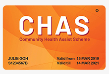CHAS Orange Card