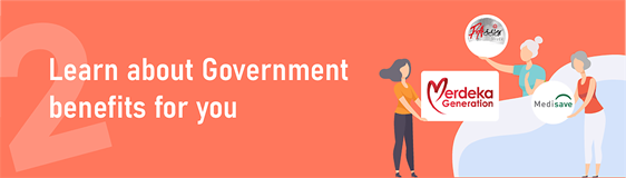 Learn about Government benefits for you with the Moments of Life app.