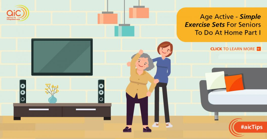 Simple Exercise Sets For Seniors To Do At Home