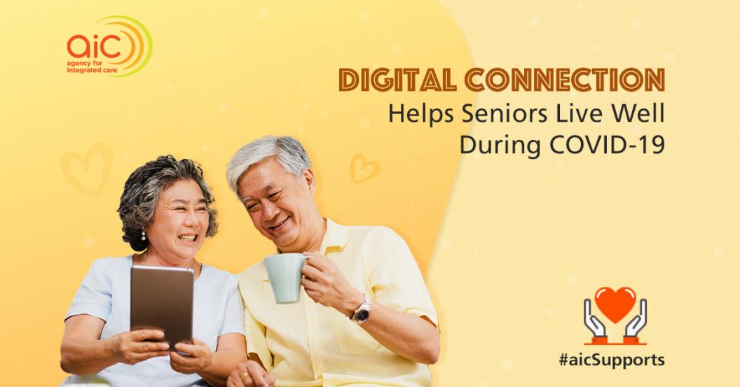 Digital Connection Helps Seniors Live Well During COVID-19
