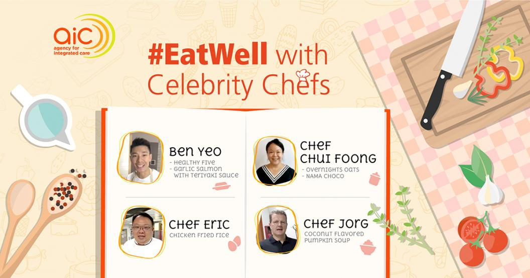 #EatWell with Celebrity Chefs