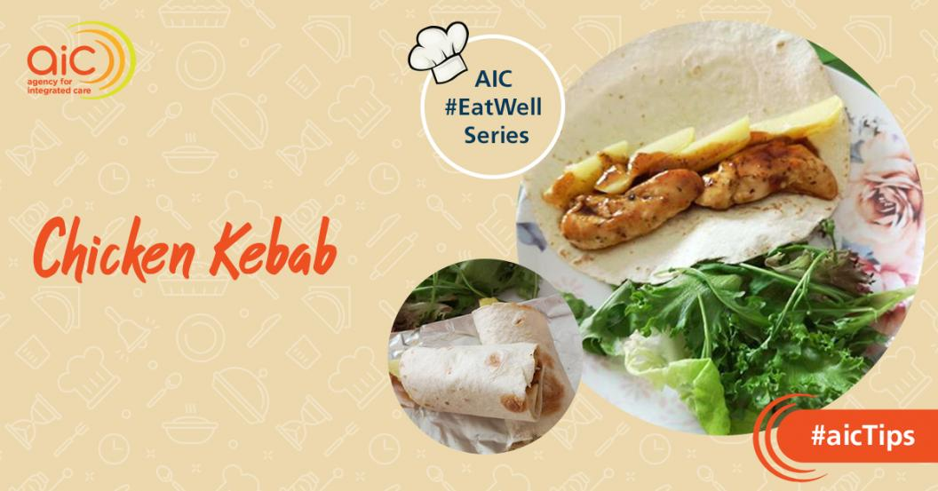 AIC #EatWell Fan Recipe: Chicken Kebab